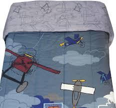disney plane crazy full bed comforter reversible blanket