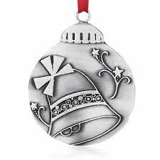 Meaning Of Christmas Bell Ornament, Old Forge Pewter