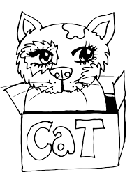 Feel free to print and color from the best 39+ kitty cat coloring pages printable at getcolorings.com. 10 Free Printable Cat Coloring Pages For Kids Hubpages