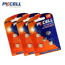Lr1130 Battery Equivalent Chart Lr1130 L1131 389 390 189 Lr54 Alkaline Button Cell Battery 5pcs Card Total 15pc