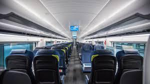 On Board The New Eurostar The Sleekest Under Sea Train