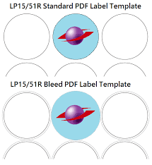 How To? – How To Use Label Planet's Bleed Label Templates