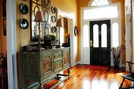 entry foyer furniture. Entry Foyer Decorating Tips Front Ideas Shabby Chic Style With Consol Table Yellow Furniture R