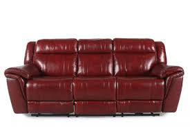 red leather reclining sofa. Furniture:New Red Leather Reclining Sofa For Furniture Enticing Picture Microfiber Plus N