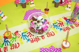 Décoration De Table Anniversaire Enfant - Intérieur Déco