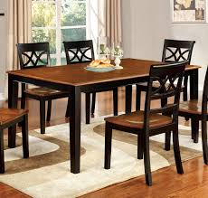 black cherry wood dining table
