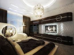 12 Bedroom Design Ideas With Cool Lighting : Fascinating Contemporary Bedroom  Idea With Artistic Bedroom Lighting