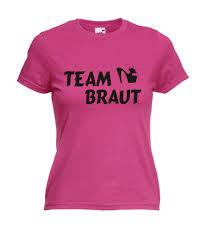 Motiv T Shirt Damen Für Jga Team Braut 3