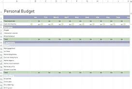 Sample Personal Budget Templates Free Personal Budget Template Download Free Personal Budget