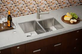 Elkay Pergola DropIn Stainless Steel 33 In 4Hole Double Bowl Elkay Stainless Kitchen Sinks