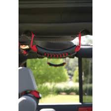 rugged ridge 13305 15 rear side grab handles red 07 17 jeep wrangler jku