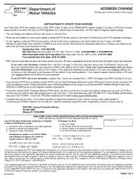 nys dmv change address form mv 232 2015 2018 form ny mv 232 fill online printable fillable blank