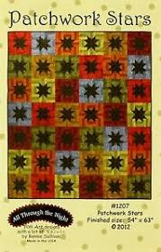Patchwork Stars Quilt Pattern from All Through the Night 54