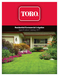 Residential Commercial Irrigation Specification Manualzz Com