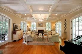 Adorable Dining Room Coffered Ceiling In Coffered Ceiling Design Ceiling  Beams