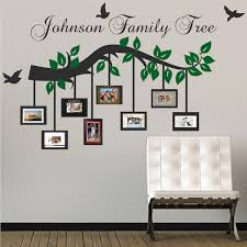 customizable picture frame branch wall