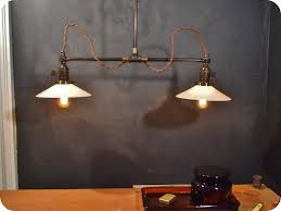 Retro industrial lighting fixtures Vintage Looking Vintage Industrial Double Shade Ceiling Sconce Machine Age Flat Lighting Fixtures Original Pendant Lamp Light Barn Playableartdcco Vintage Industrial Lighting Fixtures With Antique Ceiling Light