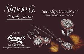 simon g jewelry trunk show