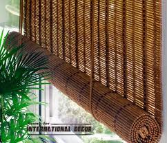 bamboo curtains for window coverings