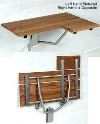 wooden shower bench brilliant teak modern folding seat bathroom inside grab bar specialists natural fold down