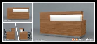 New Reception table design for Office, shop & Restaurant