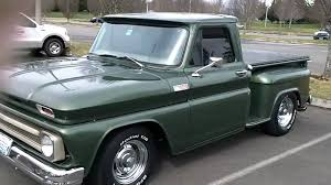 1965 chevy truck, flowmasters sound good! - YouTube