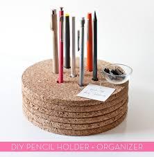 diy office supplies. Cork Pencil Holder 7 Of 11 Diy Office Supplies
