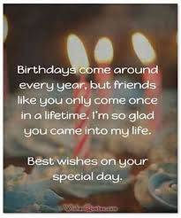 Friend Birthday Quotes