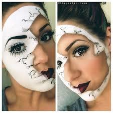 breaking through makeup ed doll