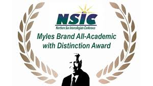 NSIC Myles Brand Award Winners - SMSU Athletics