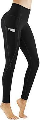PHISOCKAT High Waist Yoga Pants with Pockets ... - Amazon.com
