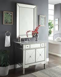 bathroom mirror reflection. 36\u201d Mirror Reflection Ashlyn Bathroom Vanity W/Ramsey # YR-023RA- 2