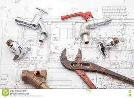 Plan Plumber And Wrench Stock Image Image Of Spanner 75091927