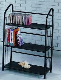 metal book shelves. Delighful Metal Book Shelves 3 Tier Metal  Black Throughout K