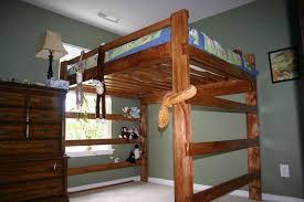 image of full size loft bed frame interest