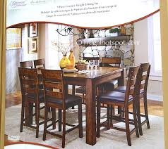 universal furniture broadmoore 9 piece counter height dining set costco frugal hotspot