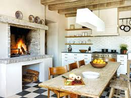 white country cottage kitchen. Country Cottage Kitchen Cabinets French L Shaped White Finish Wooden Rectangle
