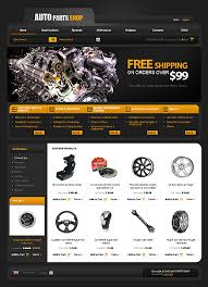 auto parts website template website template 28172 autoparts spare custom website template