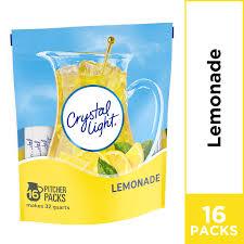 Crystal Light Drink Mix Strawberry Orange Banana Crystal Light Lemonade Powdered Drink Mix Caffeine Free