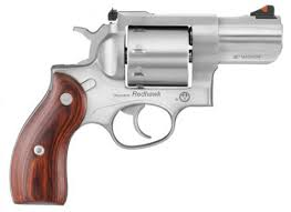 ruger 5033 redhawk stainless single double 357 magnum 2 75 8 hardwood stainles 741 00