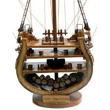 uss constitution model ship cross section superior range