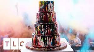 colorful wedding cakes cake boss. Plain Wedding A Colorful Cake For The 5th Anniversary Of The Color Run  Boss  Season 9 On Wedding Cakes Boss C