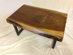 Black Walnut Coffee Table Live Edge Coffee Table Black Walnut Item 48