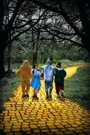 wizard of oz rug following the yellow brick road charlie ruggles wizard of oz