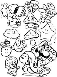 Coloring Pages Free Character Coloring Pages Video Game Page For