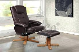 swivel recliner chairs with footstool black leather swivel recliner um image for brown swivel chair and
