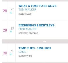 Time Flies Is Back In The Charts 10 Years Later Oasis