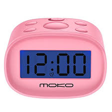 digital alarm clock moko high accuracy mini lcd display kids clock night light travel bedside digital office clocks a99 clocks