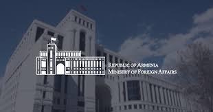 Министерство иностранных дел Республики <b>Армения</b>