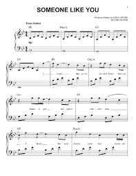 adele sheet music adele piano sheet music for best music chords music sheet